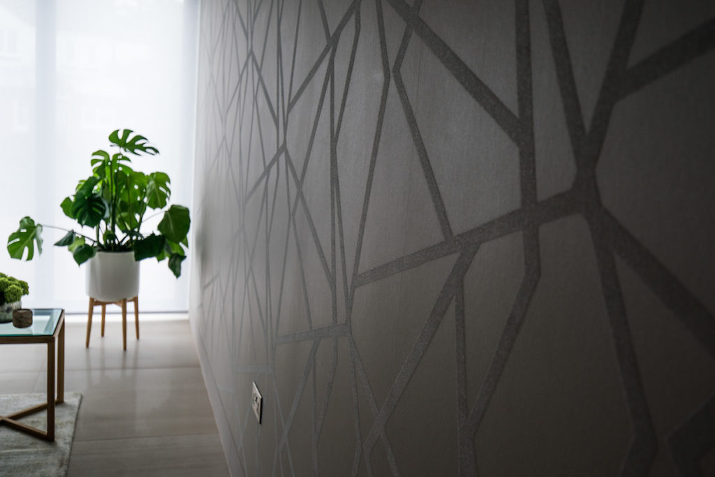 Textured wallpaper from Hallequin
